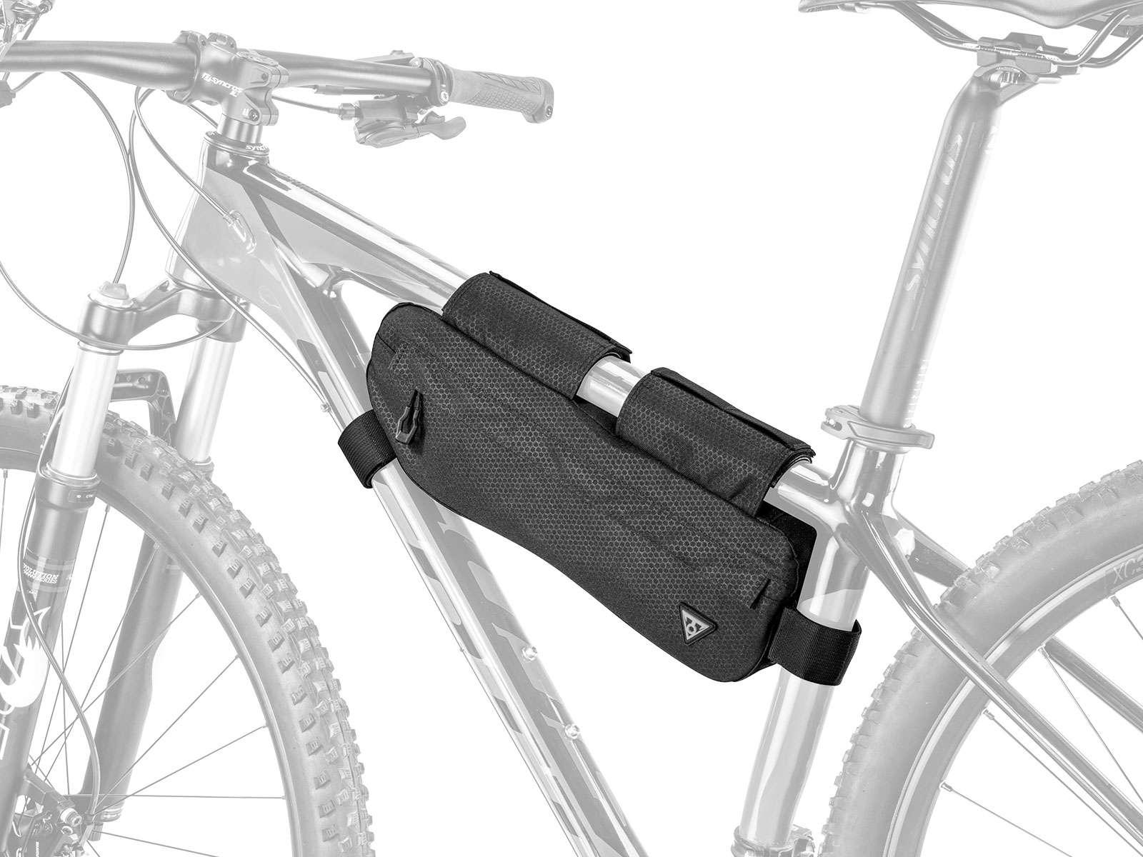 Ideální pro trekingová kola s vysokým rámem.