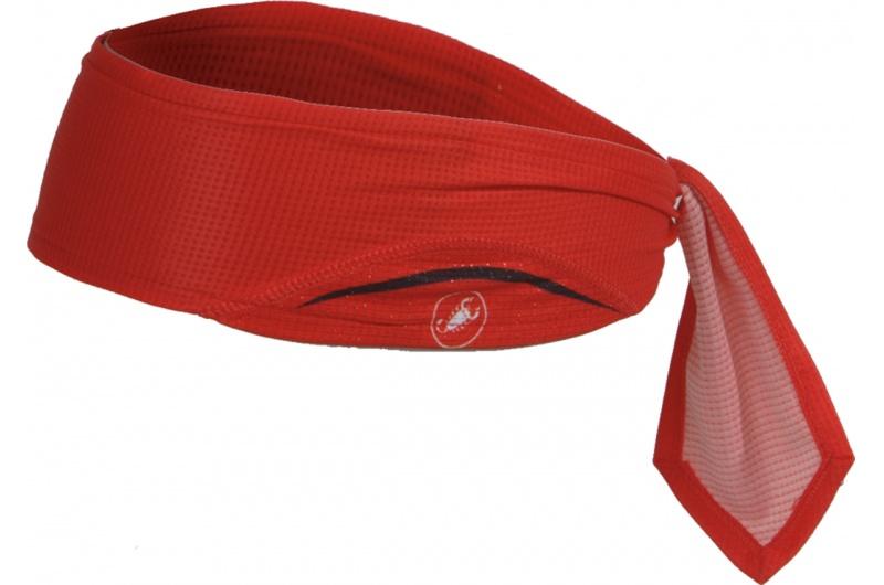 CASTELLI čelenka Scorpione červená