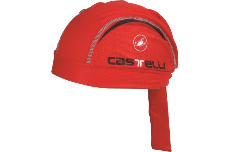 CASTELLI šátek Scorpione červená