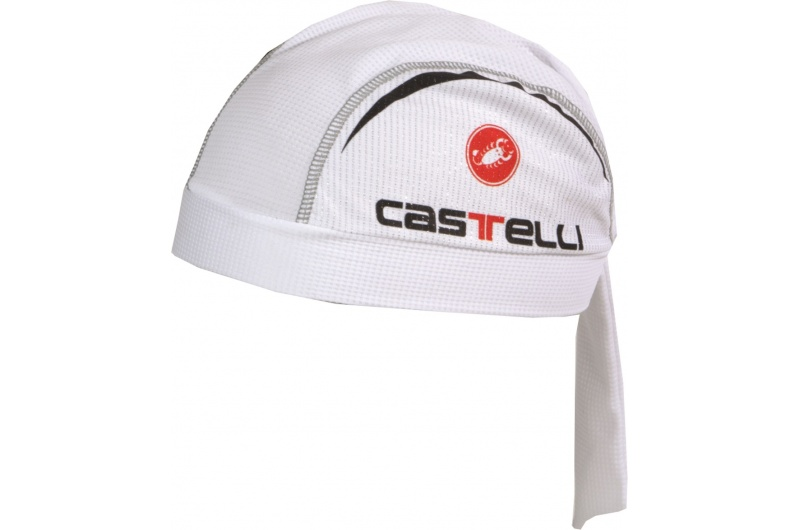 CASTELLI šátek Scorpione bílá