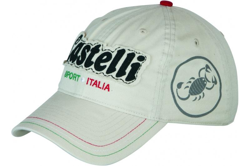 CASTELLI čepice Circa 74 baseball  bílá