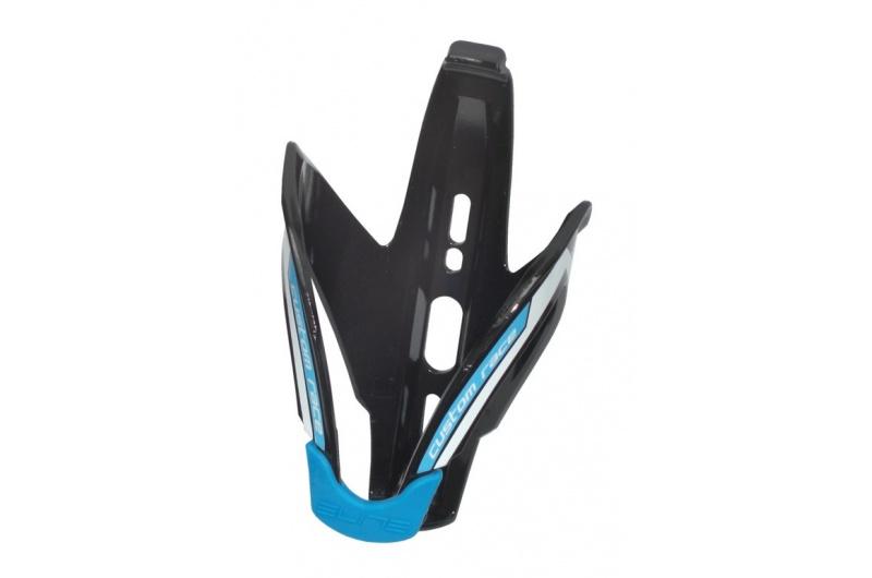 Elite košík custom race macia černo/bílo/modrý lesklý
