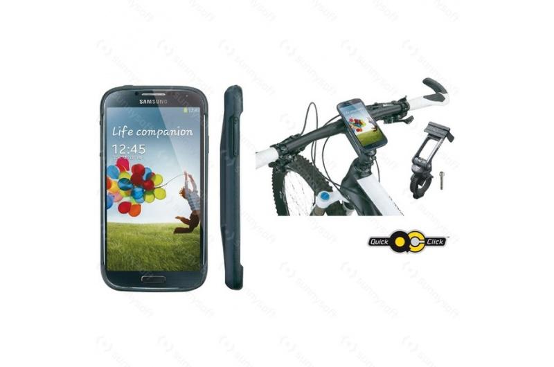 TOPEAK brašna na řidítka RideCase Galaxy S4černá