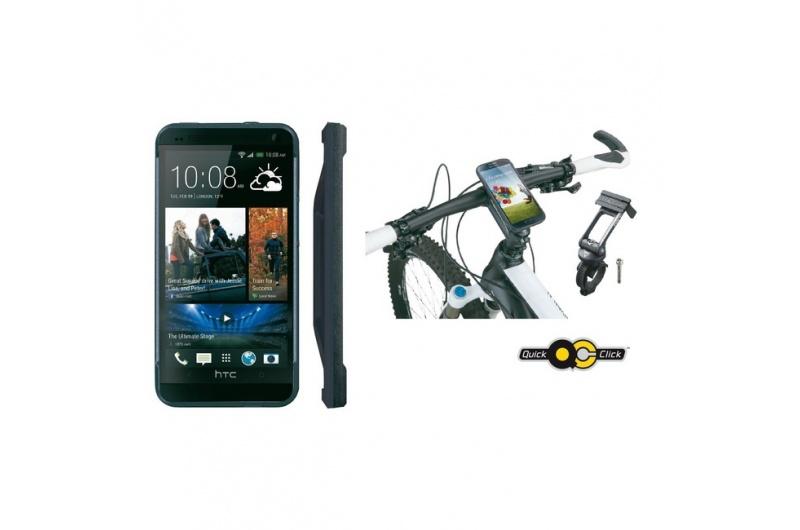 TOPEAK brašna na řidítka RideCase HTC One černá