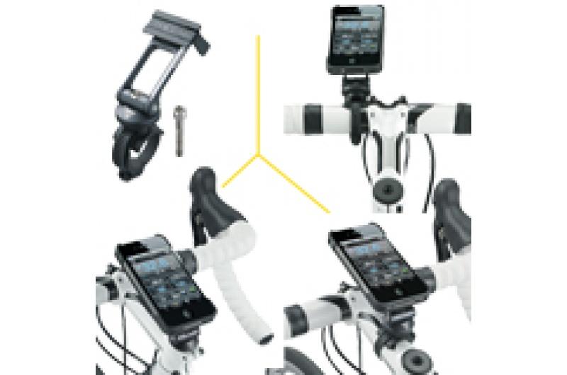 TOPEAK brašna na řidítka RideCase iPhone 4/4S černá