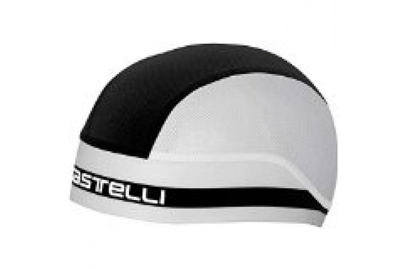 CASTELLI čepice Summer černá/bílá