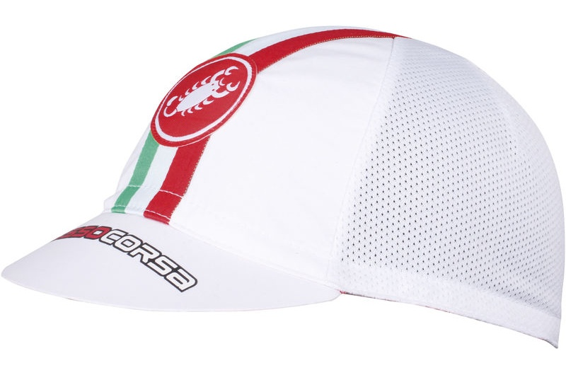 CASTELLI čepice Performance white