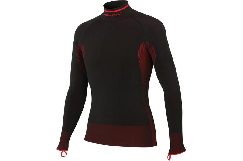 CASTELLI funkční triko Iride dlouhý rukáv černá