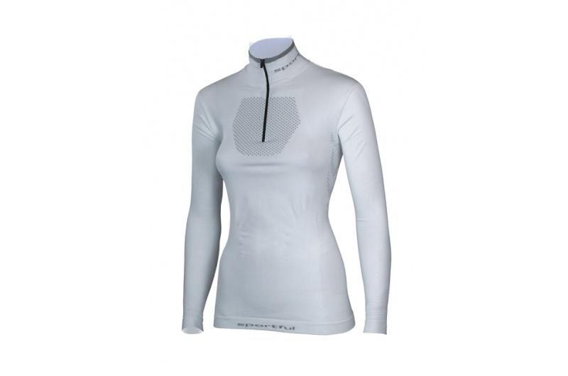 SPORTFUL funkční triko THERMIC 250 dáms.bílá  dlouhé zip
