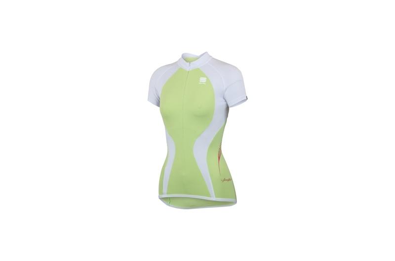 SPORTFUL dres krátký ruk.dáms. Modella zelená/bílá