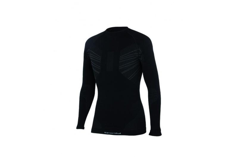 SPORTFUL funkční triko DELUXE páns. černá