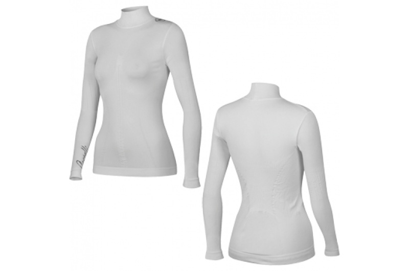 CASTELLI dámské funkční triko dl. rukáv Freddolosa bílá white