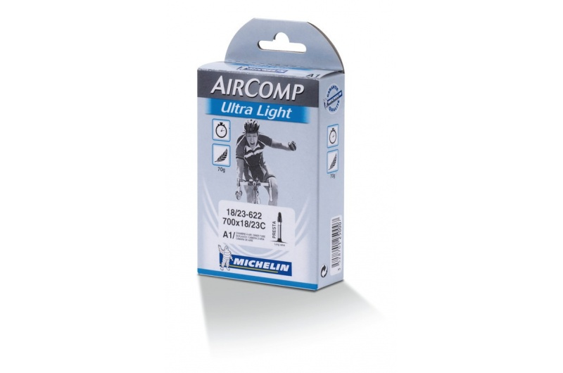 MICHELIN duše A1 Aircomp Ultralight  700x19/23 ventilek 52mm