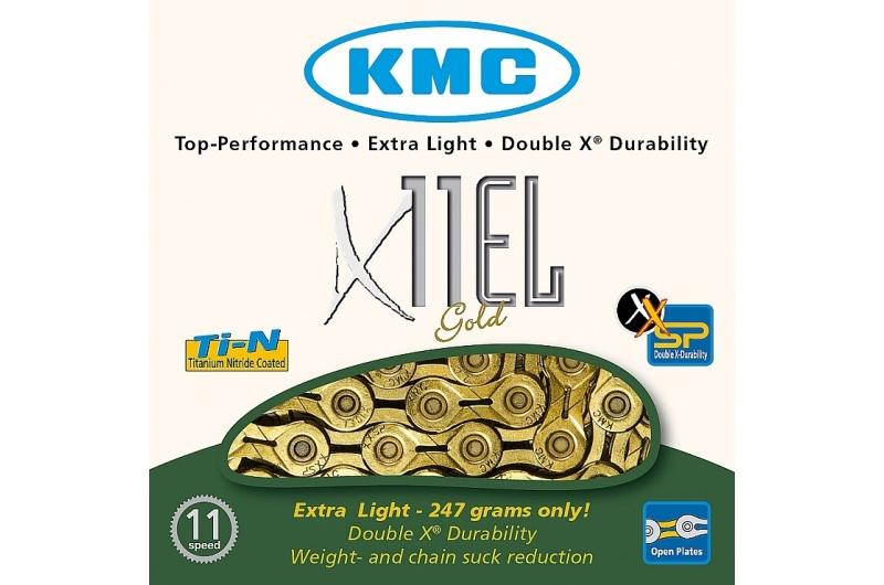 ŘETĚZ KMC X-10-EL GOLD