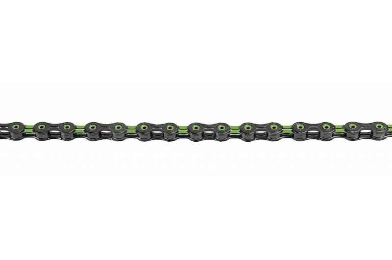 ŘETĚZ KMC X-10-SL DLC zeleno/černý BOX