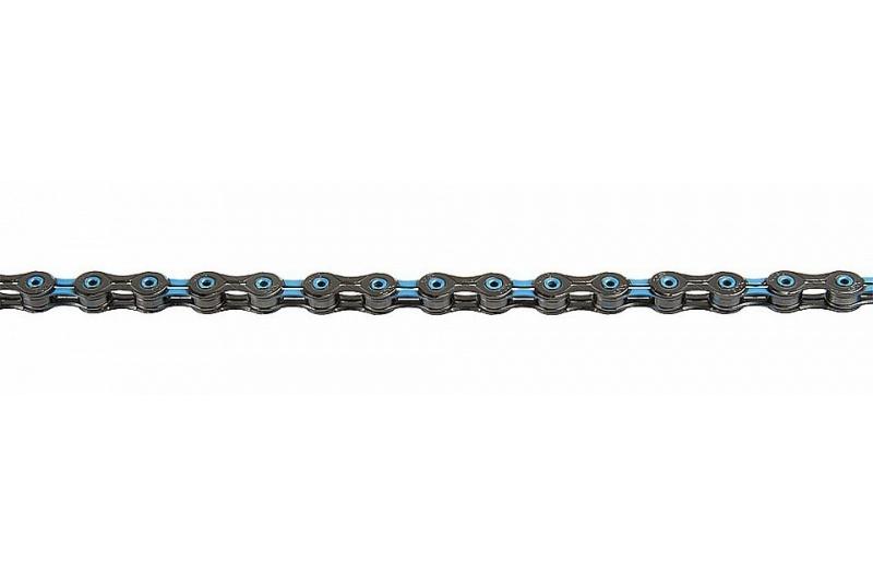 ŘETĚZ KMC X-10-SL DLC modro/černý BOX