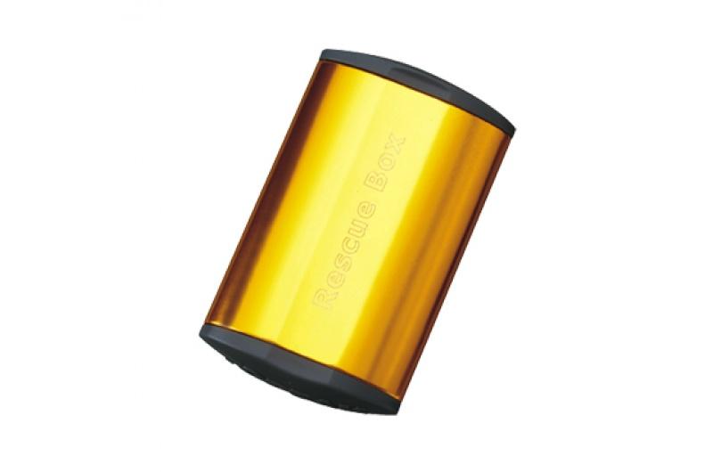 TOPEAK lepení záplaty Rescue Box, Gold