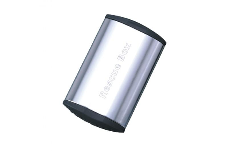 TOPEAK lepení záplaty Rescue Box, Silver
