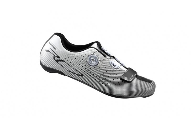SHIMANO cyklistické tretry RC7 S-PHYRE stříbrná