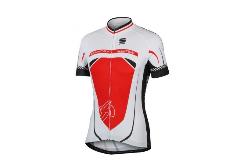 SPORTFUL dres krátký rukáv Squadra 12 červená