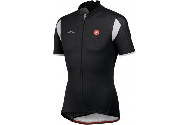 CASTELLI dres krátký rukáv Carico jersey černá