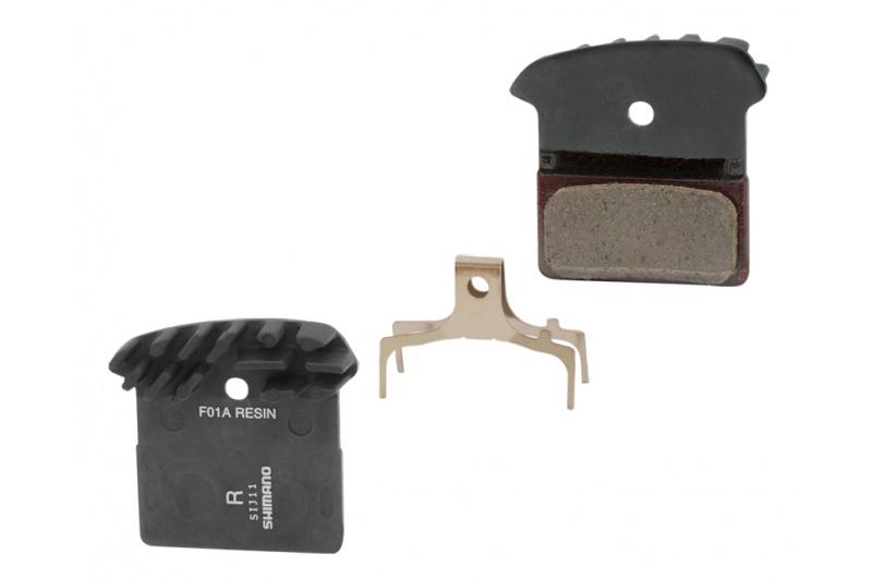 SHIMANO brzdové disc destičky XTR, XT,SLX JO2A  s chladičem metal polymer Y8LW98040