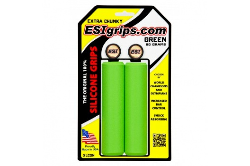 gripy ESI CHUNKY EXTRA zelená