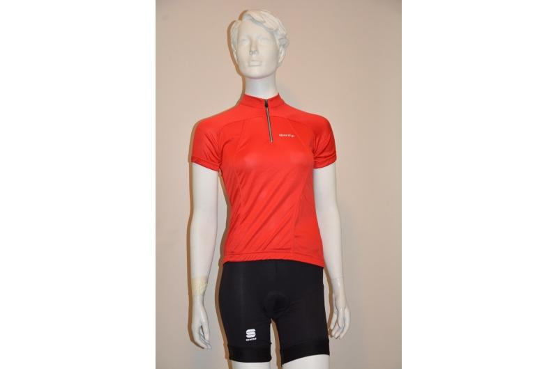 SPORTFUL dres dámský krátký rukáv ESSENTIAL červená