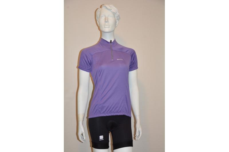 SPORTFUL dres dámský krátký rukáv ESSENTIAL fialová