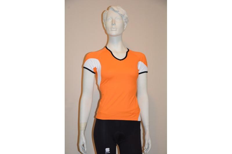 SPORTFUL dres krátký rukáv WINKY STRETCH dámský oranžová