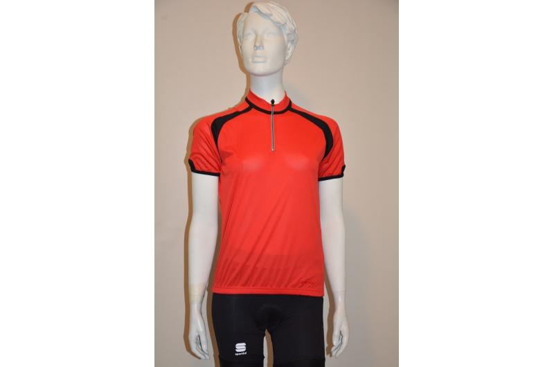 SPORTFUL dres dámský krátký rukáv WINKY Comfort červená