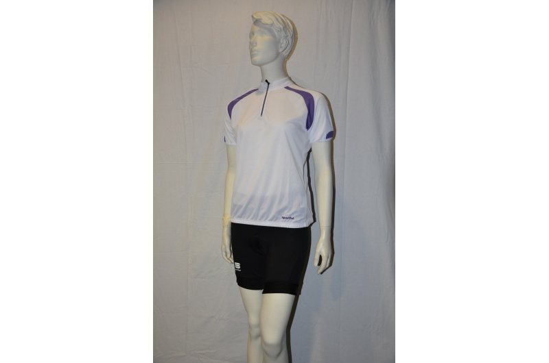 SPORTFUL dres dámský krátký rukáv WINKY Comfort fialová