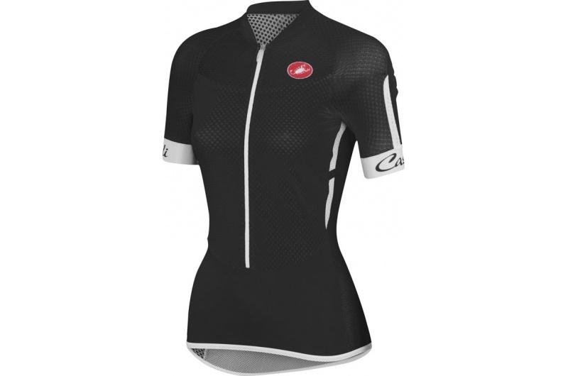 CASTELLI dres dámský krátký rukáv Climber´s černá