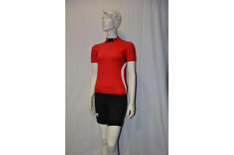 SPORTFUL dres dámský krátký rukáv WINKY POP červená