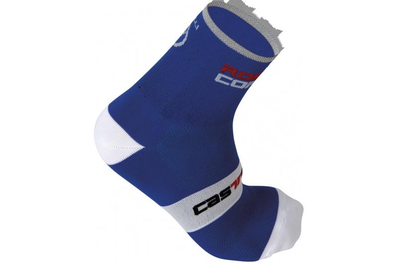 CASTELLI ponožky  Rosso Corsa 9 modrá/bílá