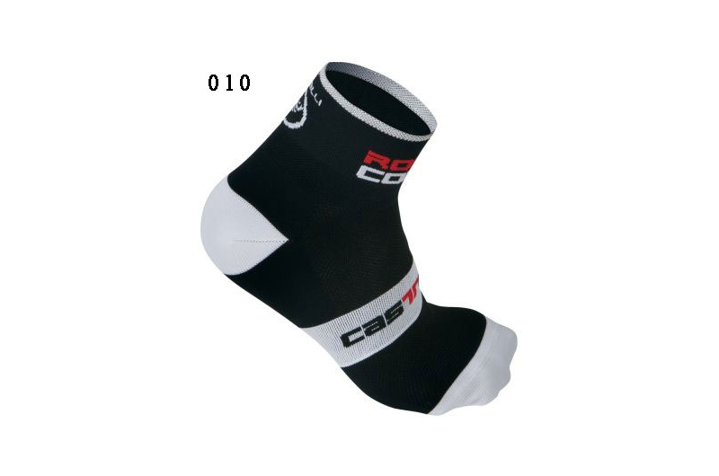 CASTELLI ponožky Rosso Corsa 6cm černá