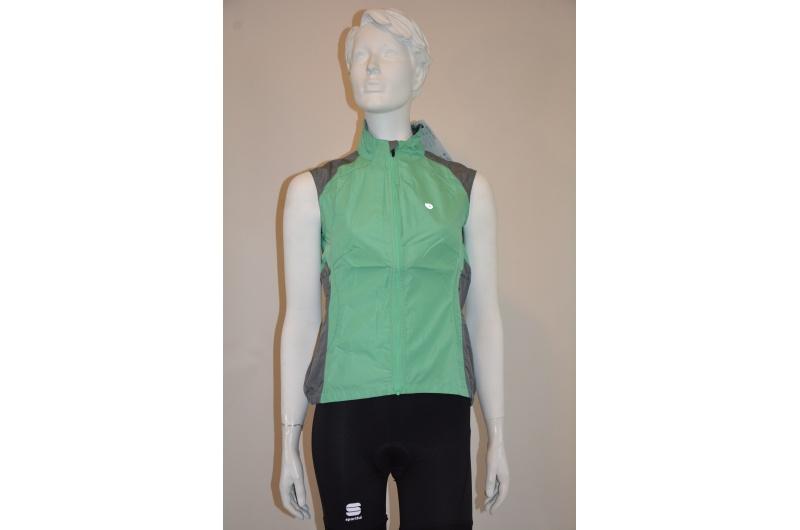 PEARLiZUMi vesta dámská Whisper Vest zelená