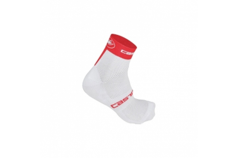 CASTELLI ponožky Classica 6cm bílá