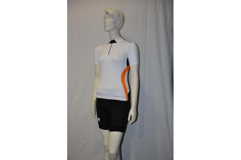 SPORTFUL dres dámský krátký rukáv WINKY POP bílá/oranžová