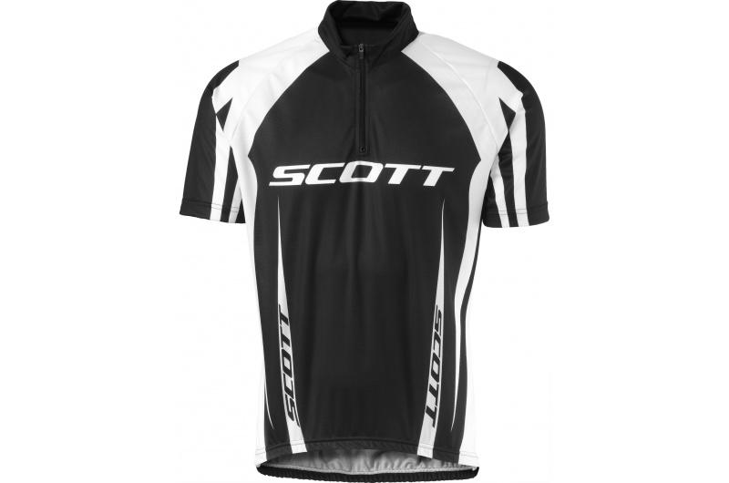 SCOTT dres krátký ruk. AUTHENTIC černá