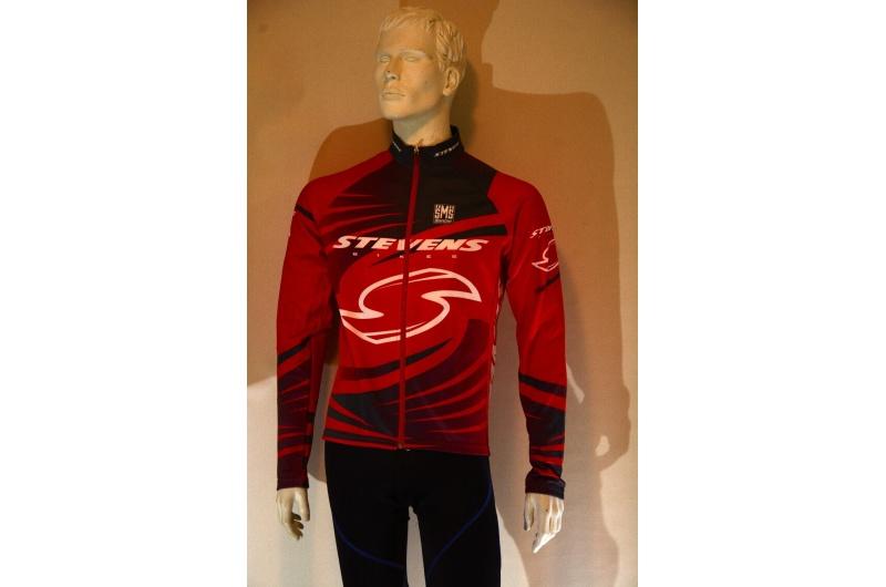 STEVENS dres s dlouhým rukávem červený