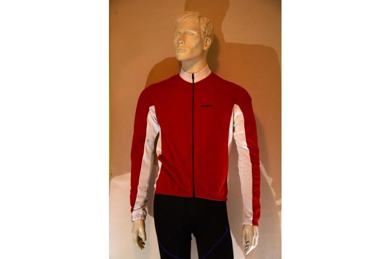 SPORTFUL dres dlouhý rukáv MOVE II JERSEY červená/bílá