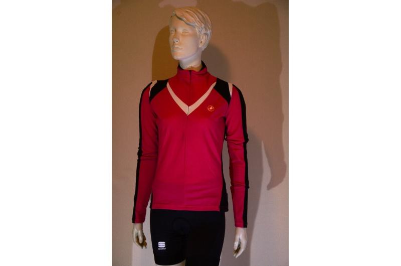 CASTELLI dres dlouhý rukáv MITO růžový