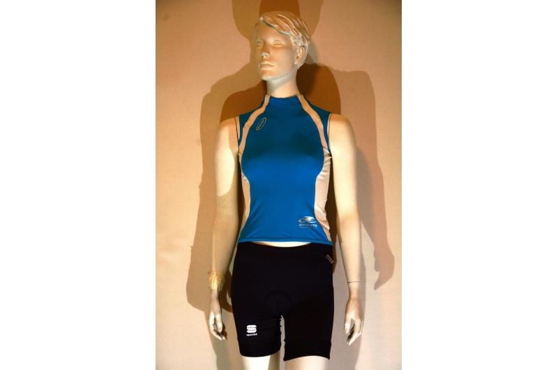 NEWLINE dres bez rukávů ZPEED LADY modrá