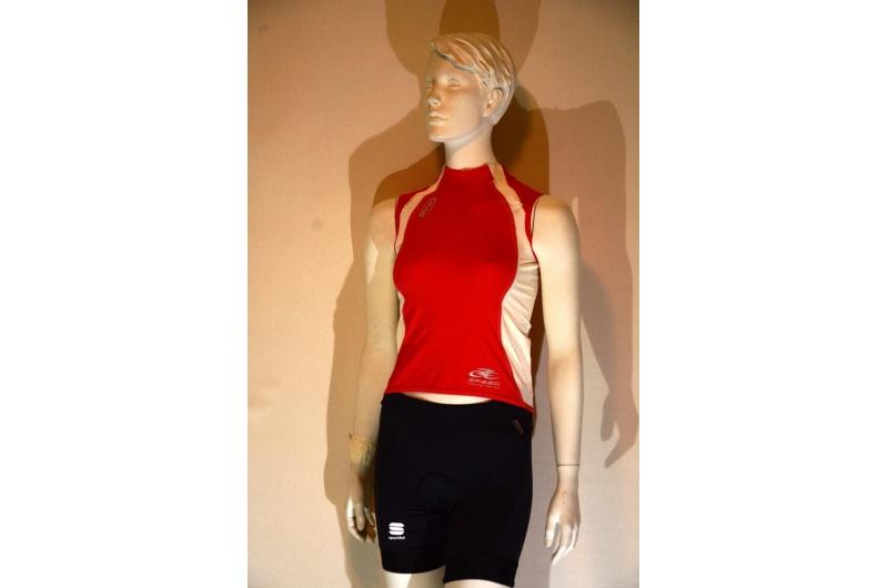 NEWLINE dres bez rukávů ZPEED LADY červená