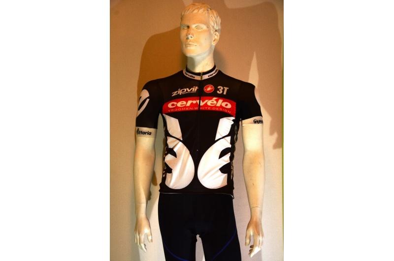 CASTELLI dres AERO RACE černá/červená/bílá