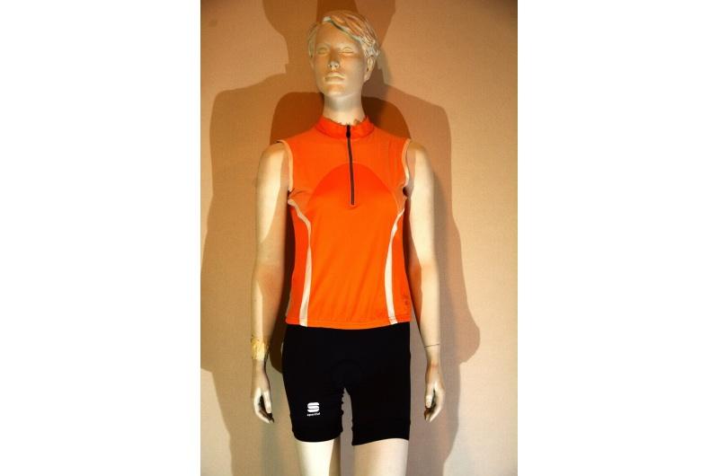 SPORTFUL dres bez rukávů HYBRID oranžová