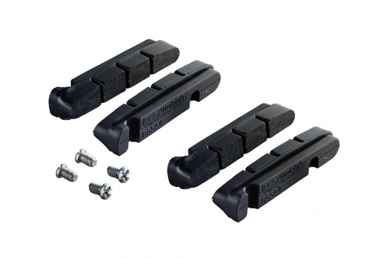 SHIMANO silniční brzdové gumičky DURA-ACE, ULTEGRA, 105 R55C4(PRO CARBONOVÉ RÁFKY) pár
