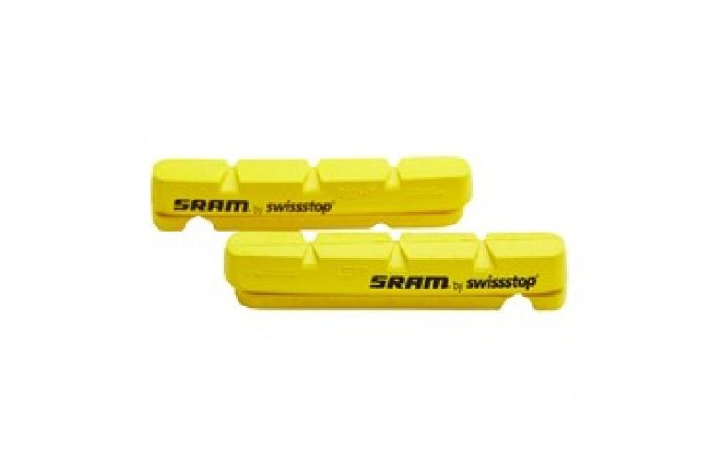 SRAM brzdové gumičky INSERT CARBON QTY2