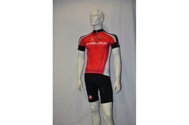 NALINI dres krátký BASIC červená